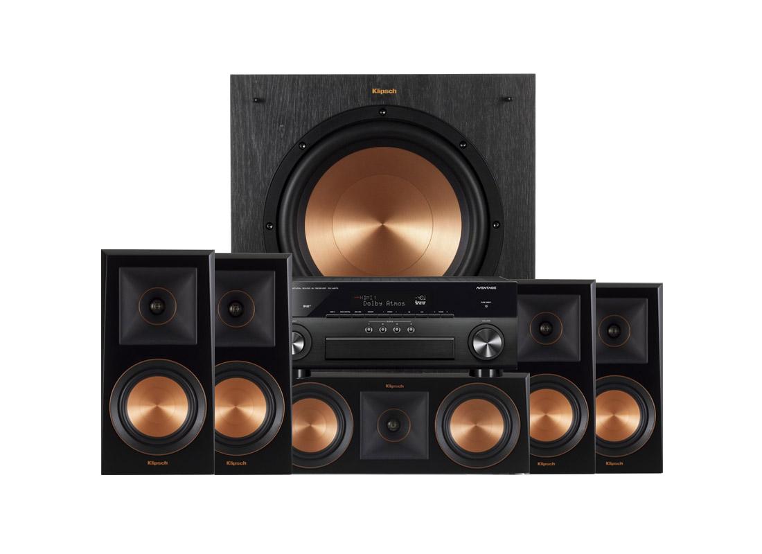 Yamaha RX-A870   Klipsch RP-600M högtalarpaket 5.1 8de39c608f6d7