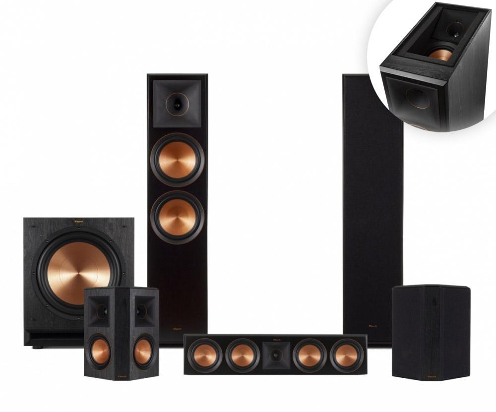 Klipsch RP-8060F högtalarpaket 5.1.2 18102b62db6a1